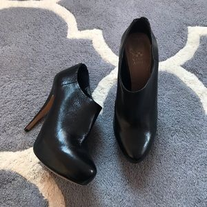Vince Camuto Platform High Heel Booties Black 7.5